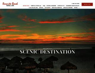 rosaritobeachhotel.com screenshot