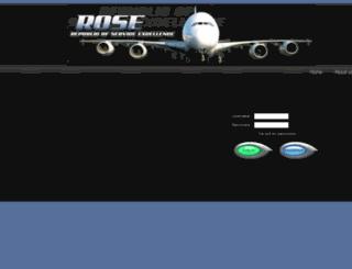 roseadmin.co.za screenshot