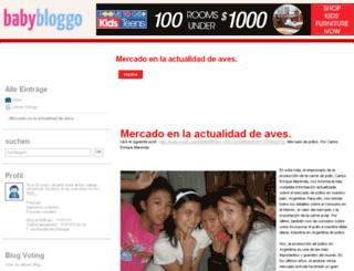 rosellfraz.babybloggo.de screenshot