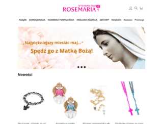 rosemaria.pl screenshot