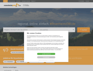 rosenheimjobs.de screenshot