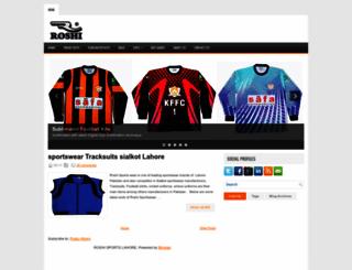 roshisports.com screenshot