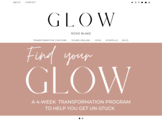 rosie-glow.co.uk screenshot