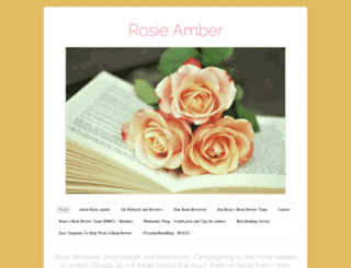 rosieamber.wordpress.com screenshot