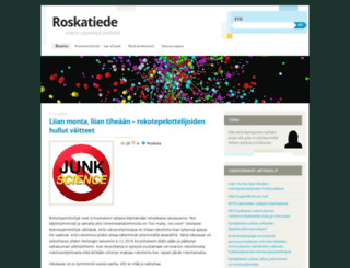 roskatiede.wordpress.com screenshot
