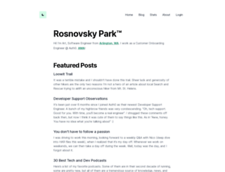 rosnovsky.ru screenshot