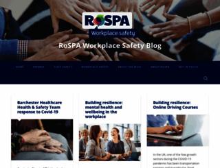 rospaworkplacesafety.com screenshot