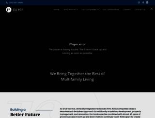 ross-companies.com screenshot