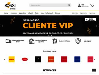 rossishoes.com.br screenshot