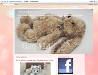 roszpunkowo.blogspot.com screenshot