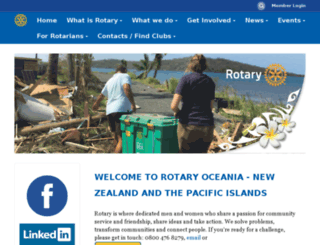 rotary.org.nz screenshot