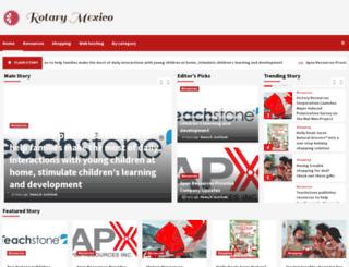 rotarymexico.org screenshot