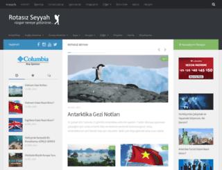 rotasizseyyah.com screenshot