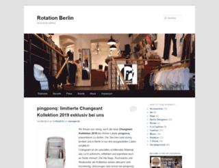 rotationboutique.wordpress.com screenshot