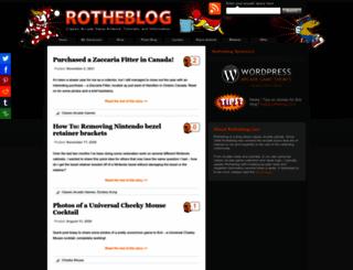 rotheblog.com screenshot