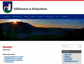 rothenthurm.ch screenshot