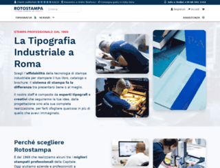 rotostampa.com screenshot
