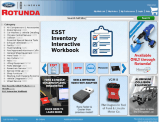 rotunda.service-solutions.com screenshot