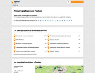 roubaix.opendi.fr screenshot