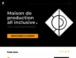 rouchonparis.com screenshot