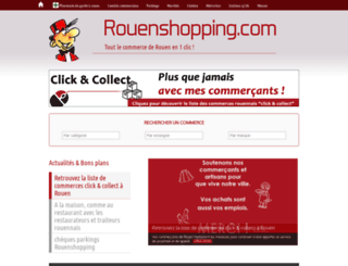 rouenshopping.com screenshot