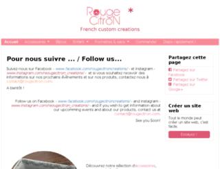 rougecitron.com screenshot