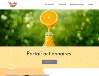 rouiba.com.dz screenshot