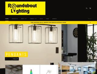 roundaboutlighting.com screenshot