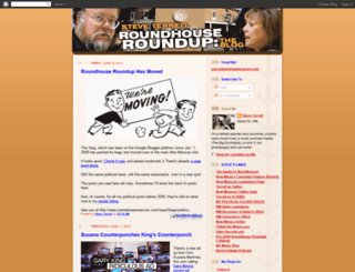 roundhouseroundup.blogspot.com screenshot
