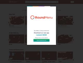 roundmenu.com screenshot