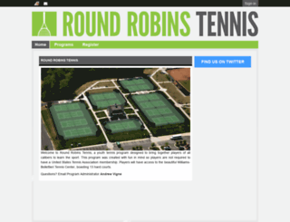 roundrobinstennis.leag1.com screenshot