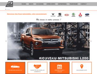 roure-automobiles.com screenshot