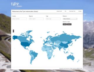 routes.tyretotravel.com screenshot