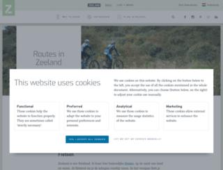 routes.vvvzeeland.nl screenshot