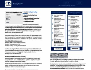 routingtool.com screenshot