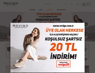 rovigo.com.tr screenshot