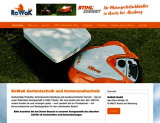 rowak.com screenshot