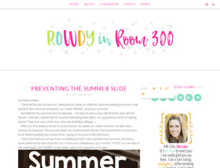 rowdyinroom300.blogspot.com screenshot