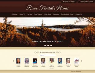 rowefh.com screenshot