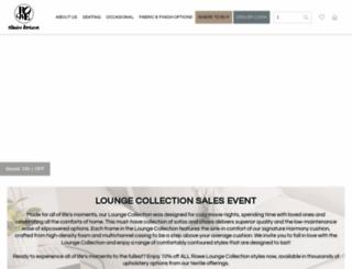 rowefurniture.com screenshot