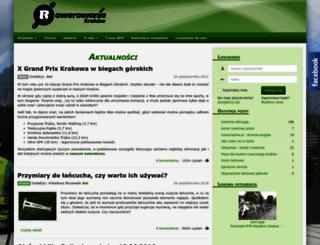 rowerowanie.pl screenshot