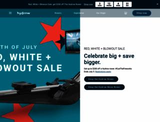 rowingmachine.com screenshot