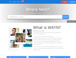 rowtraveltools.wayn.com screenshot