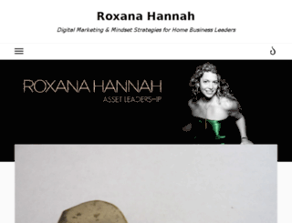 roxanahannah.com screenshot