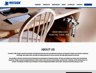 roxgen.com screenshot