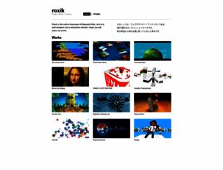 roxik.com screenshot