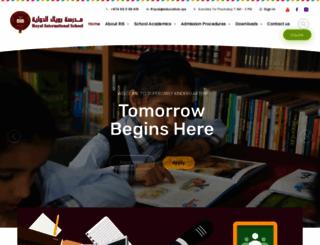 royal-schools.com screenshot