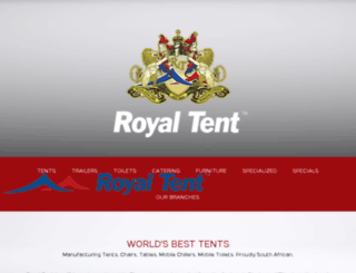 royal-tents.mobi screenshot