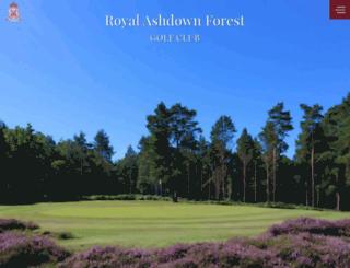 royalashdown.co.uk screenshot
