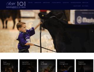 royalfair.org screenshot